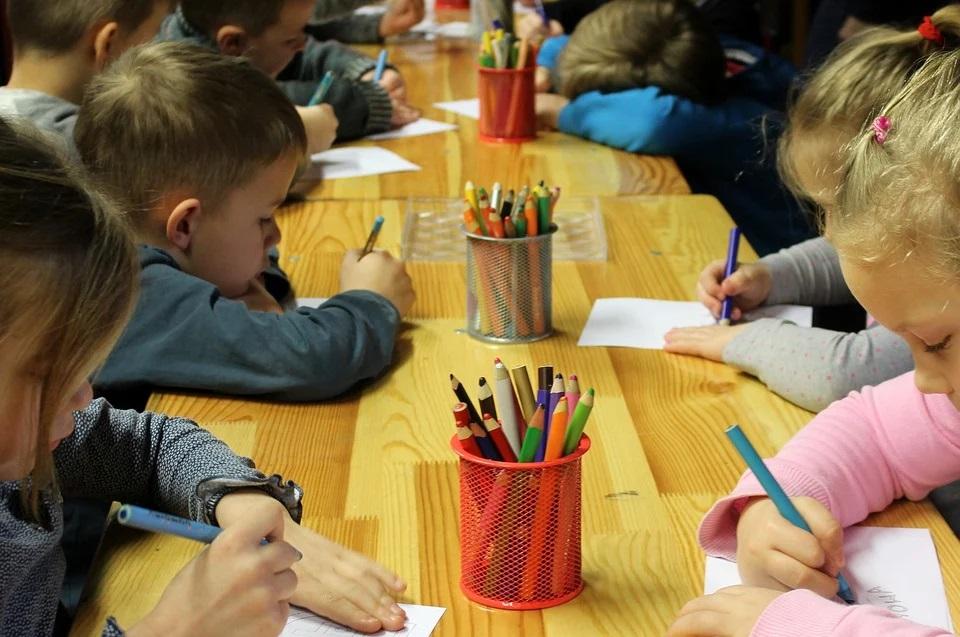 Lazio, bimbi a scuola