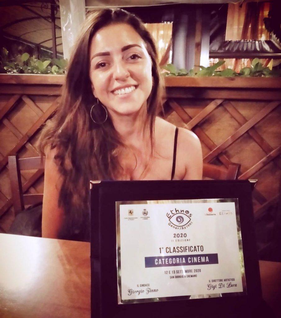Alessia Bottone con premio