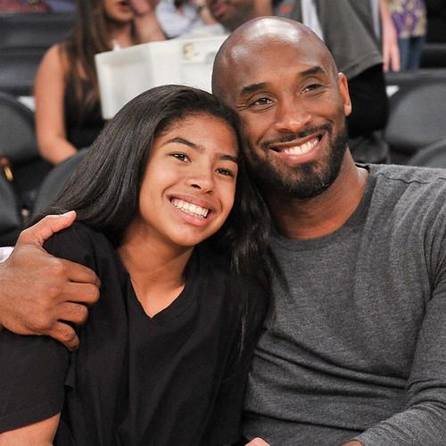 Kobe Bryant con la figlia Gianna