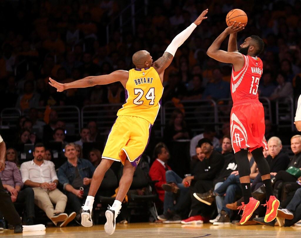 Kobe Bryant in azione