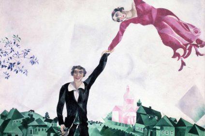 la mostra di chagall