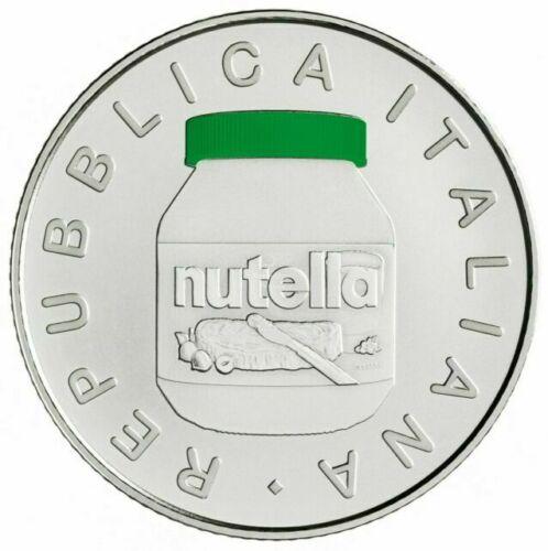 moneta che celebra la Nutella