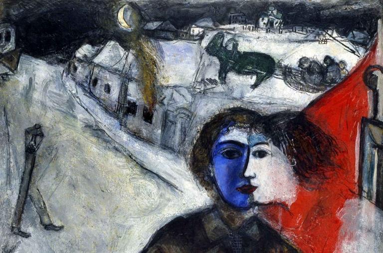 mostre - quadro di Chagall a Rovigo