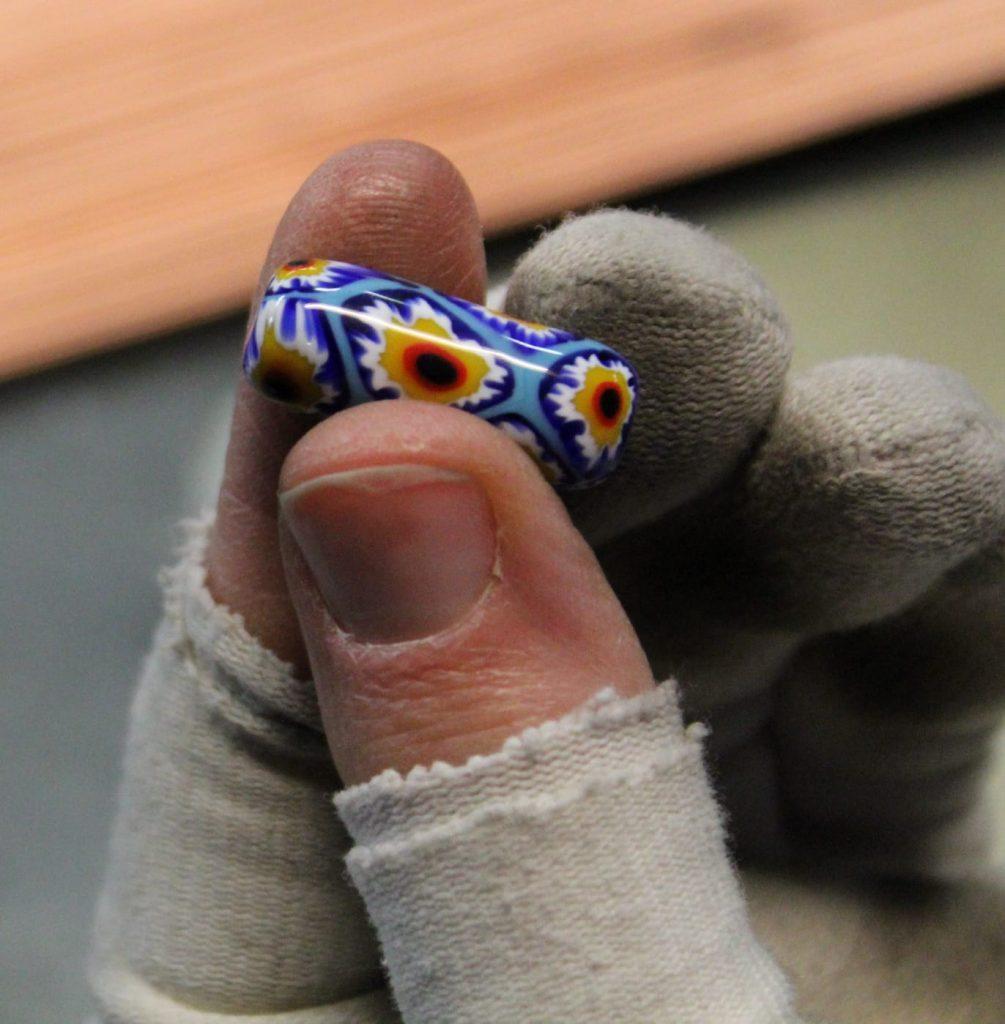 perle di vetro veneziane - particolare oggetto