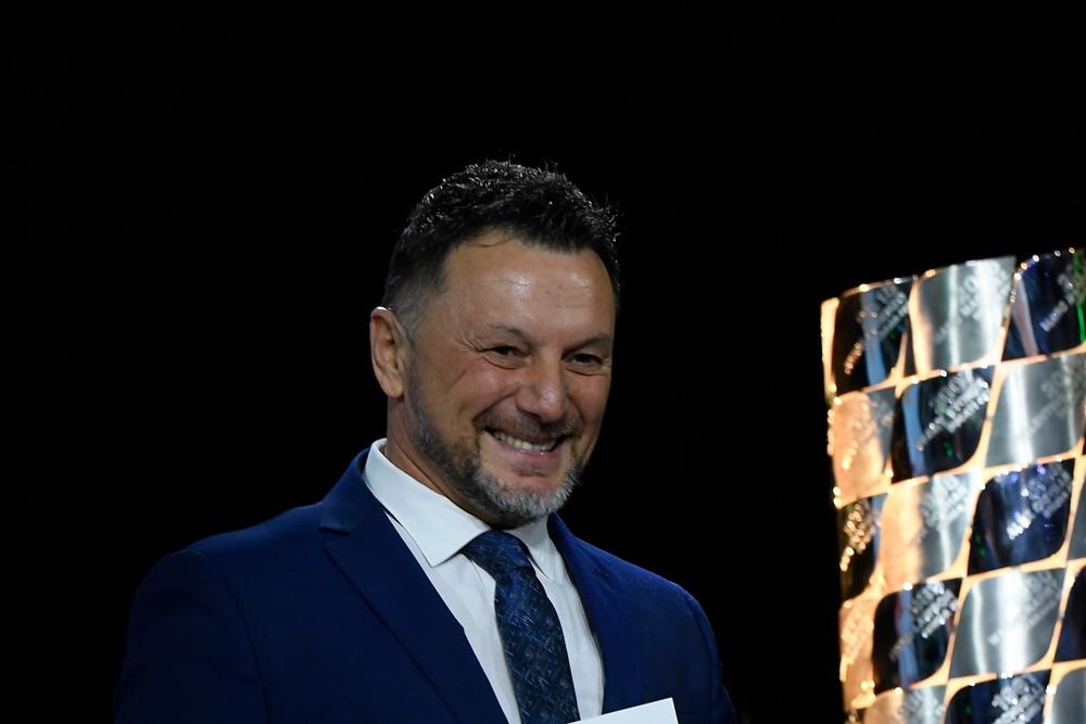 Fausto Gresini - un'immagine del campione iridato