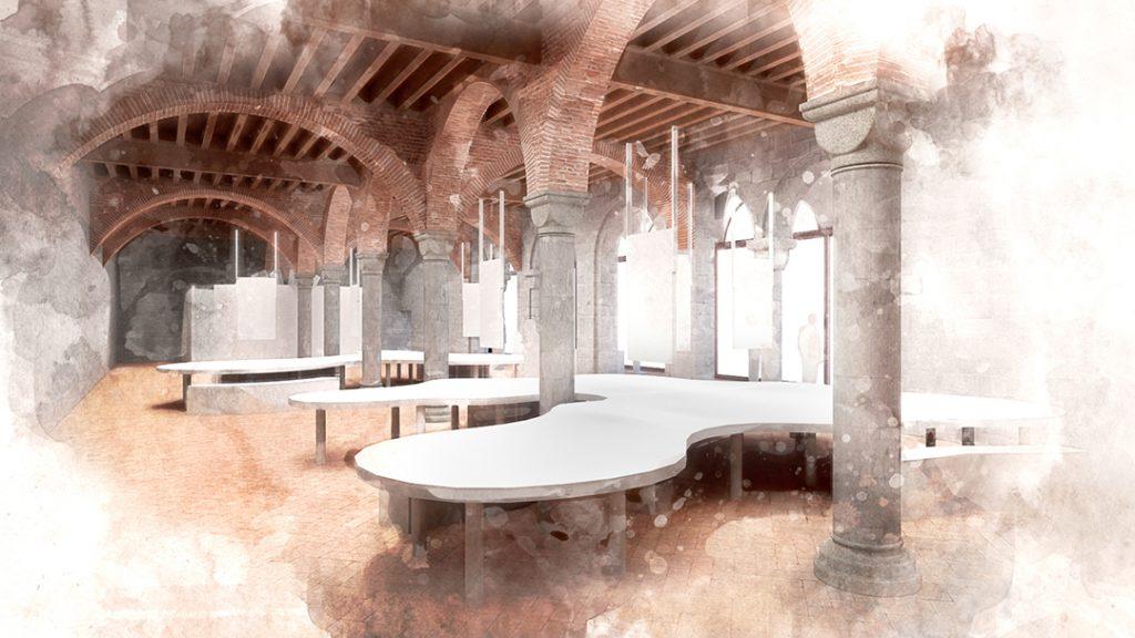 Museo Nazionale dell'Emigrazione Italiana - sala del museo al primo piano