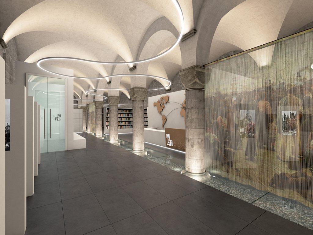Museo Nazionale dell'Emigrazione Italiana - interno museo