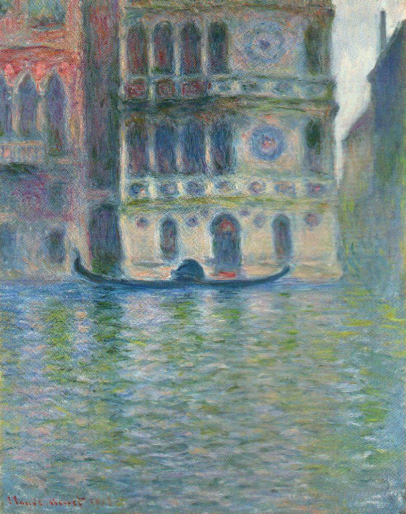 Monet palazzo dario