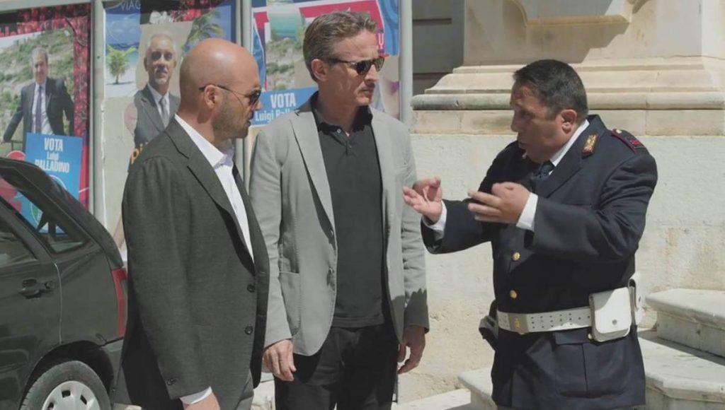 Il metodo Catalanotti - Montalbano, Mimì Augello e Catarella in una scena della fiction