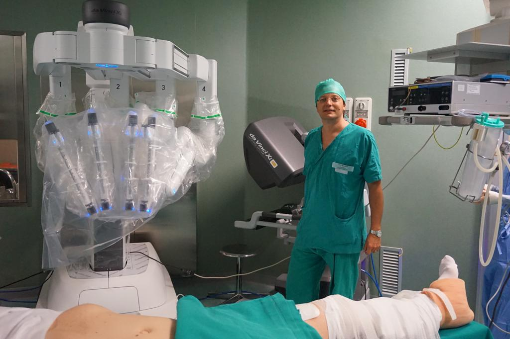 chirurgia con robot