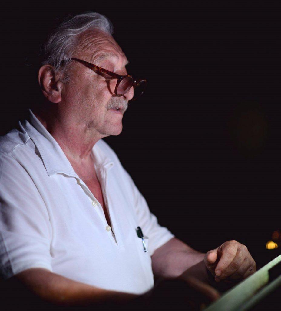 Claudio Sorrentino con occhiali
