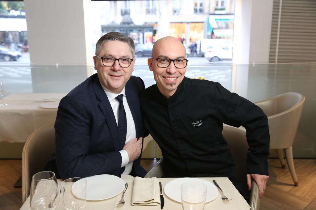 Massimo Tringali con Massimo Mori