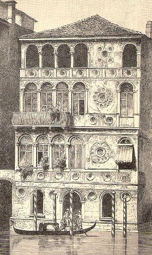 venezia palazzo dario