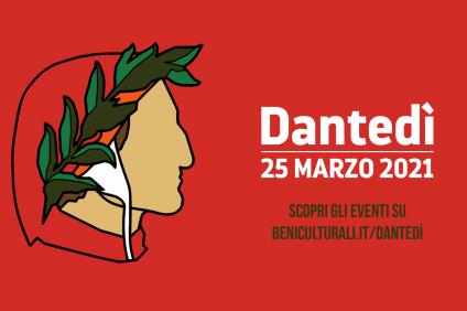 Dante Alighieri - card Dantedì 2021