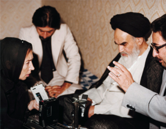 Fallaci e Khomeini