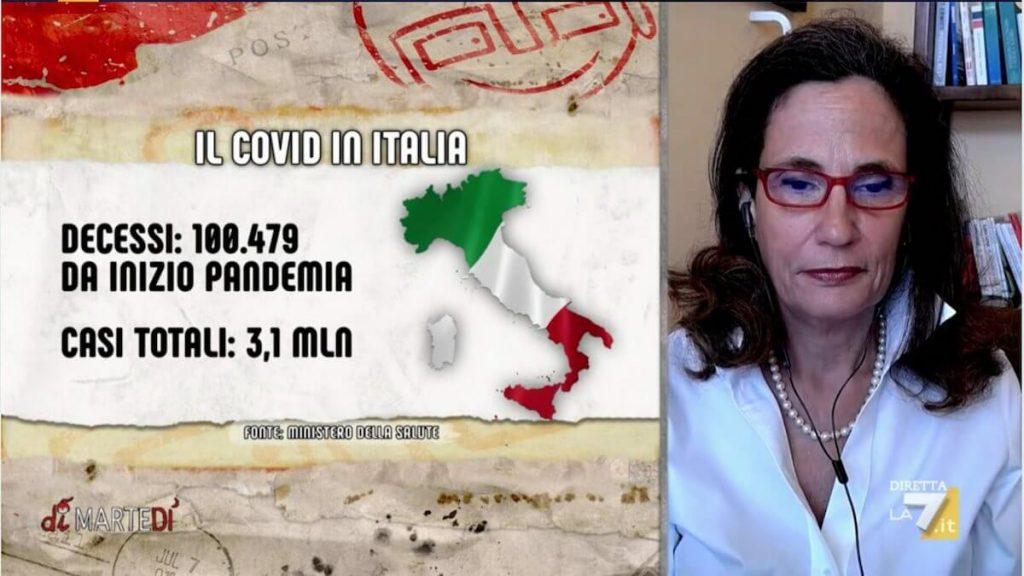 Virologa Ilaria Capua - Ilaria Capua a DiMartedì