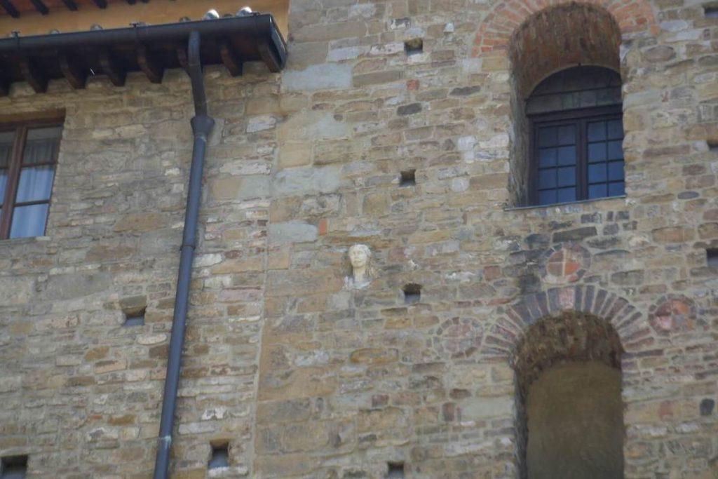 La Berta sulla parete di Santa Maria Maggiore