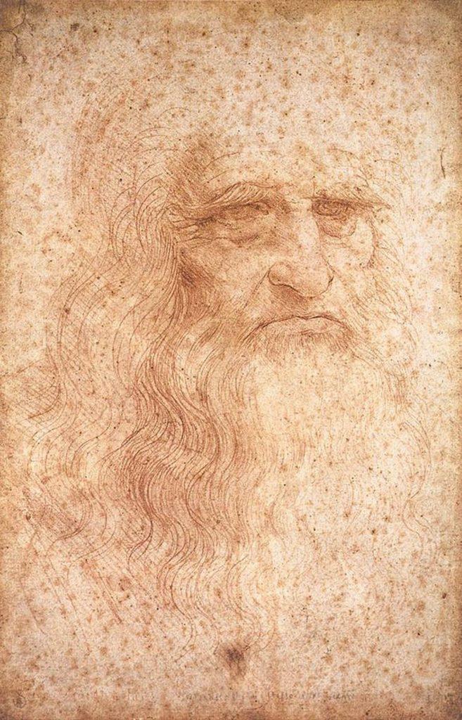 Autoritratto Leonardo da Vinci