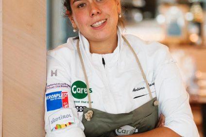Martina Caruso è uno chef delle Eolie