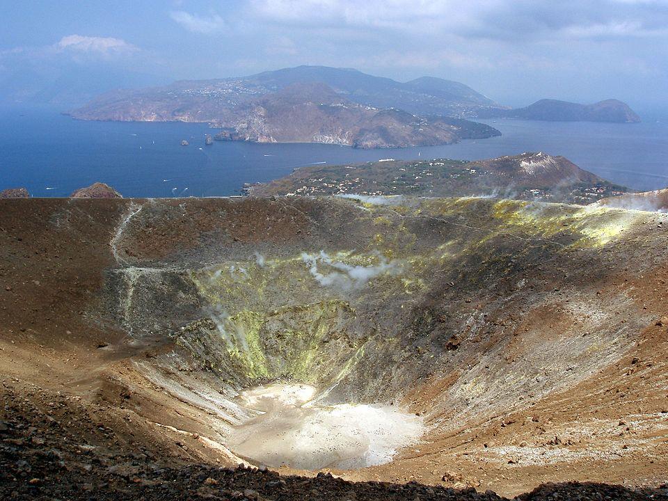 Cratere isola di Vulcano