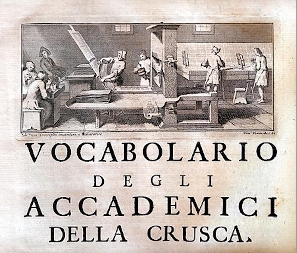 Crusca Vocabolario