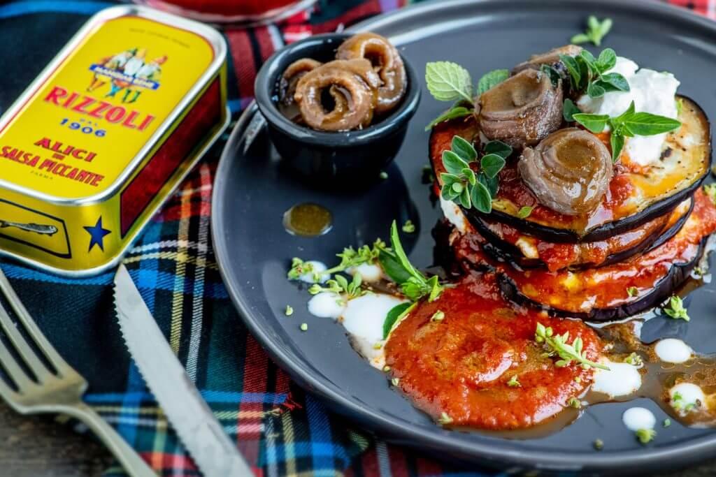 rizzoli - parmigiana nel piatto