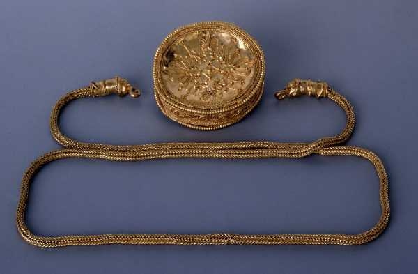 tesoro sant'eufemia - collana d'oro