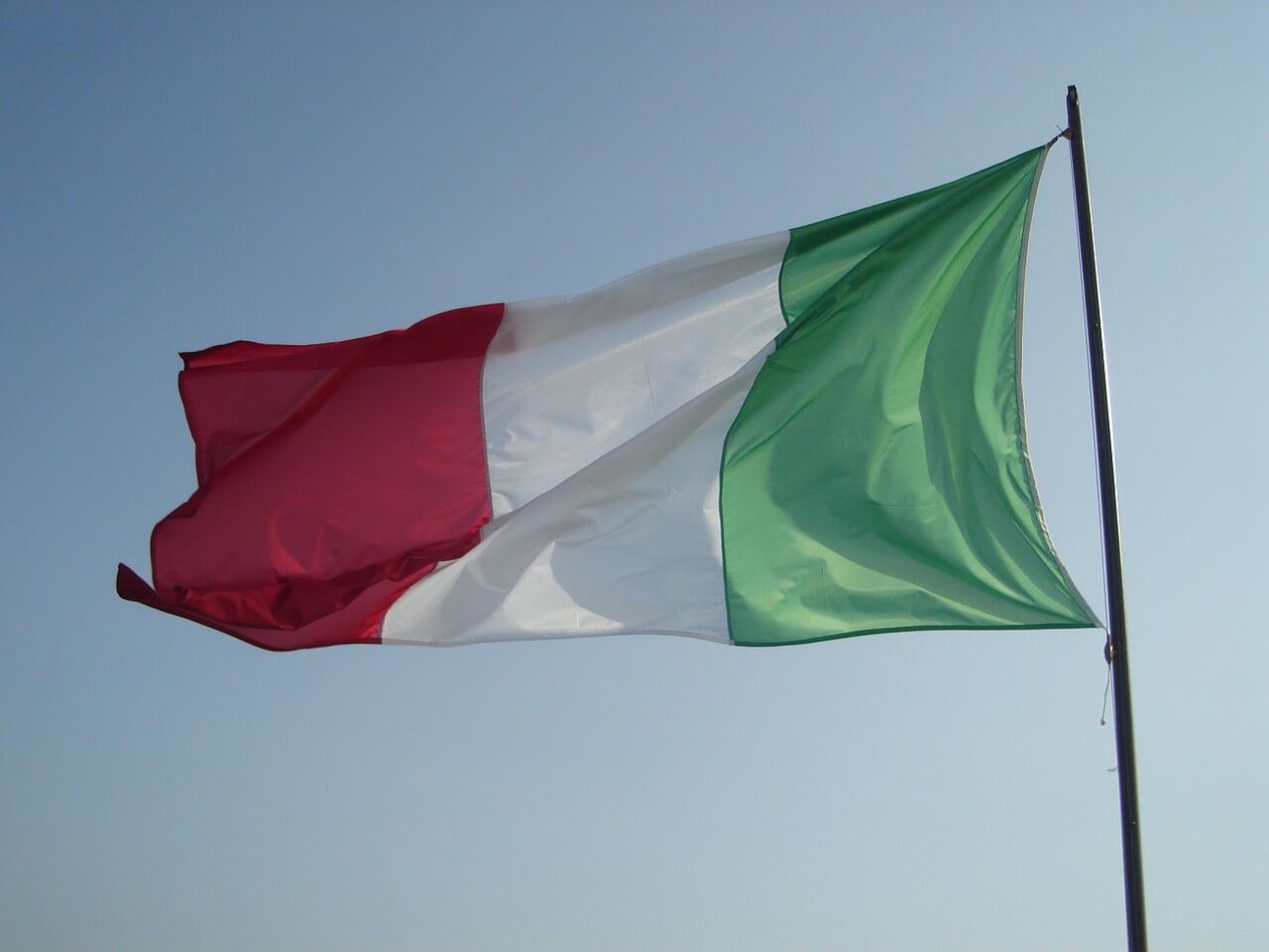 25 aprile - Bandiera italiana