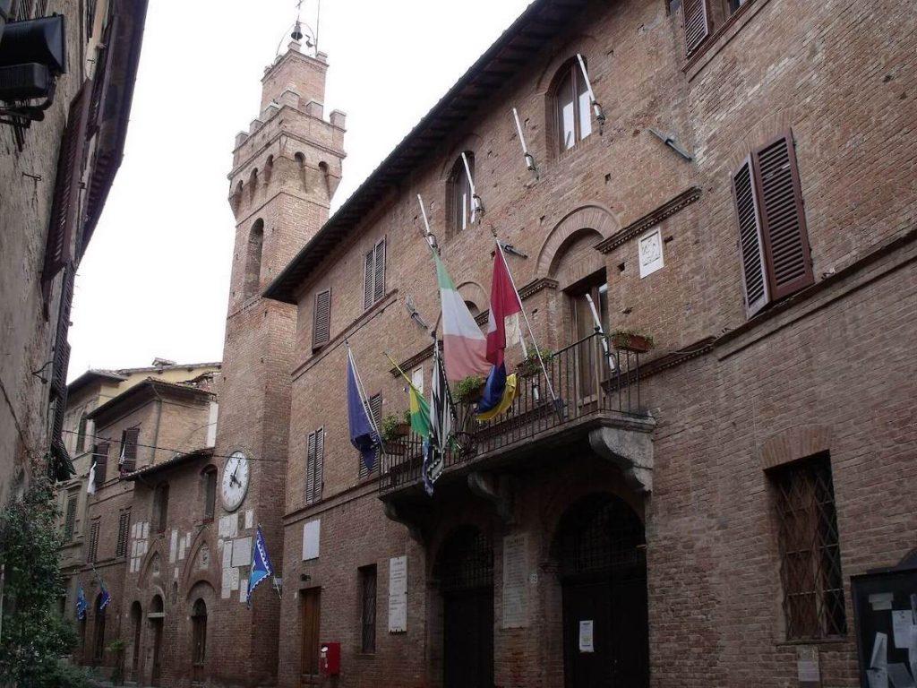 Palazzo del Podestà e torre civica Buonconvento