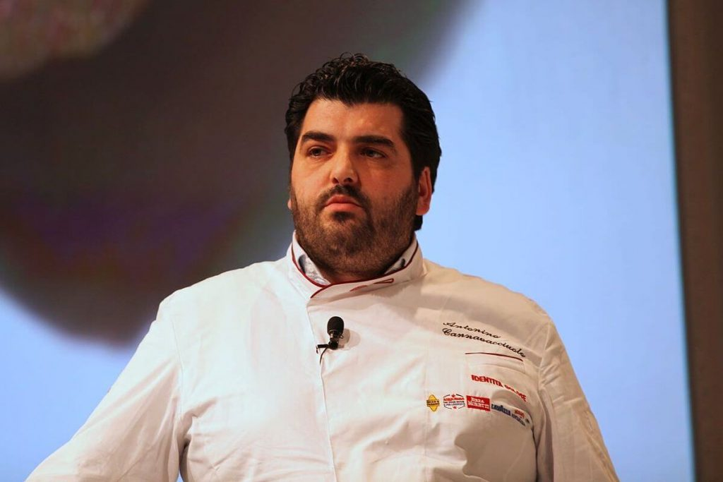 Antonino Cannavacciuolo ospite alla sesta edizione del congresso italiano di cucina d'autore