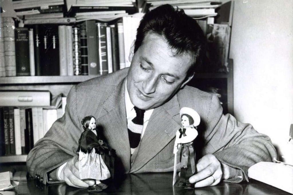 Gianni Rodari negli anni '50