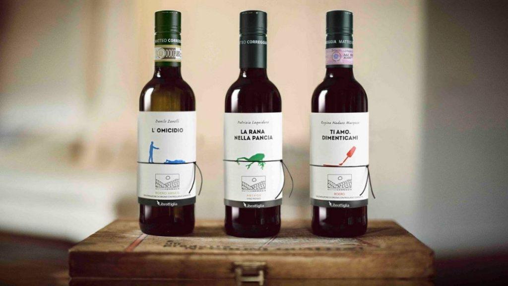 3 bottiglie di Librottiglia