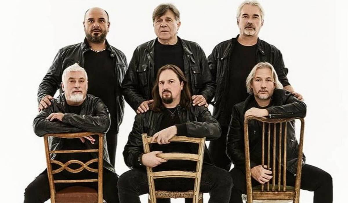 I Nomadi - nuova formazione della band con il cantante Yuri Cilloni