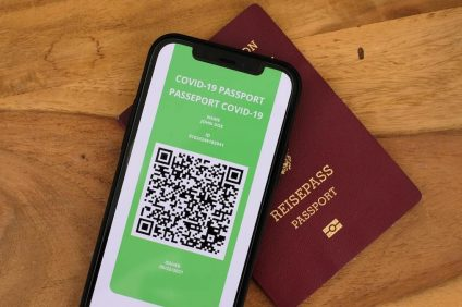 passaporto sanitario UE in formato digitale