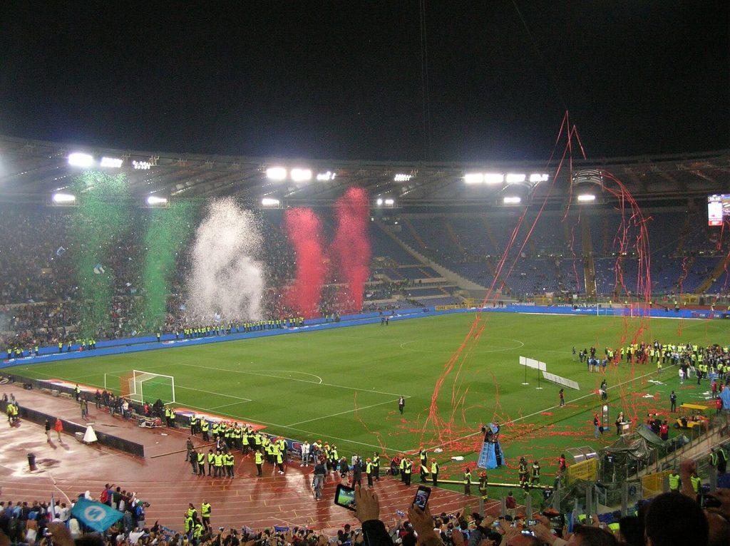 Euro 2020 - Stadio Olimpico di Roma, Coppa Italia 2012