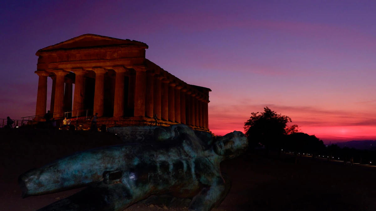 National Geographic - Tempio della Concordia Agrigento al tramonto