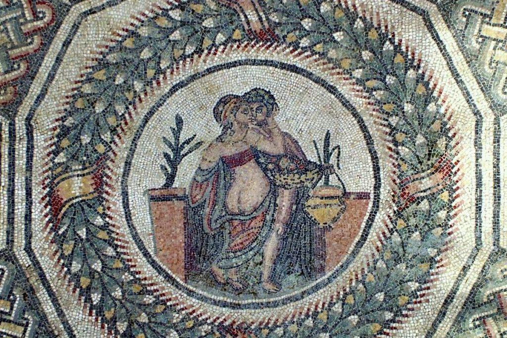 National Geographic - mosaico villa del Casale Piazza Armerina
