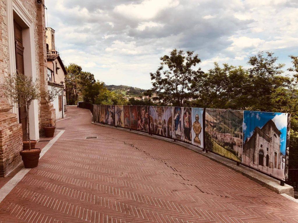 viale di Campli con immagini