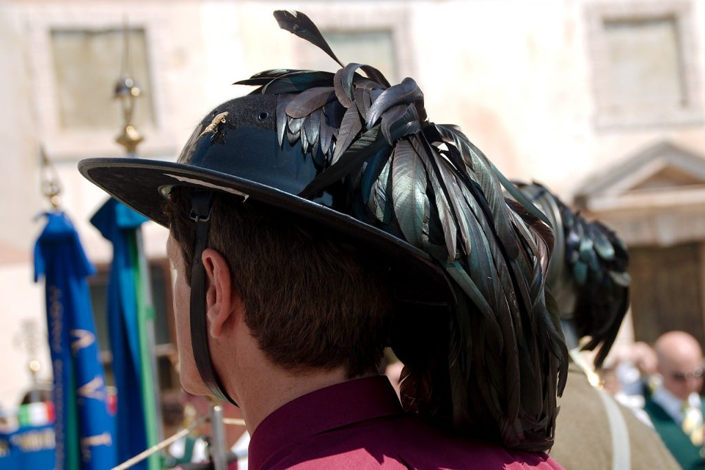 cappello bersaglieri