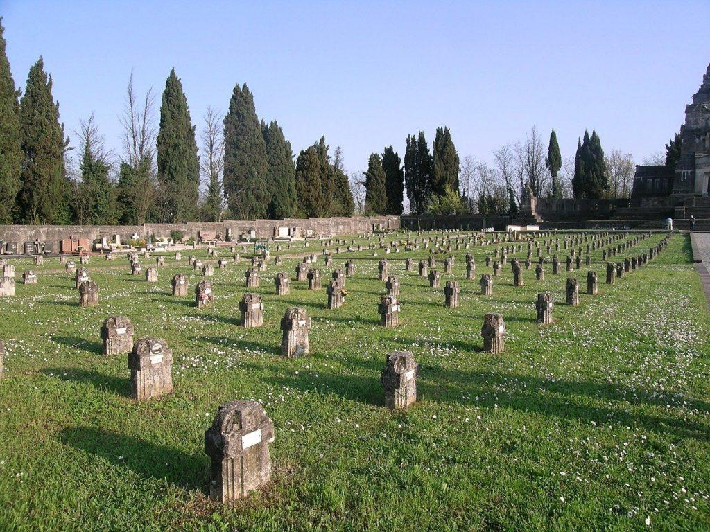 Cimitero del villaggio operario Crespi d'Adda