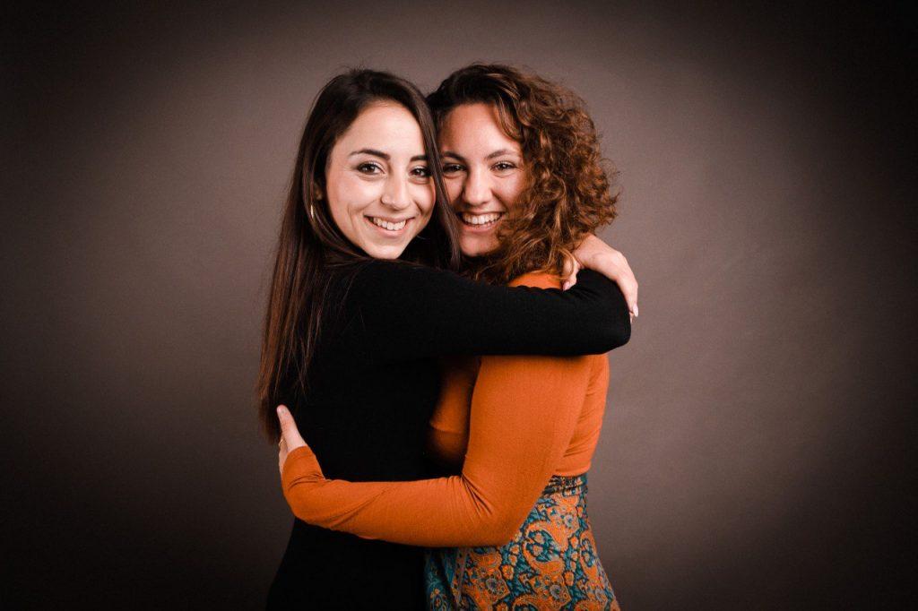 Giulia Proietti Timperi e Marta Bison