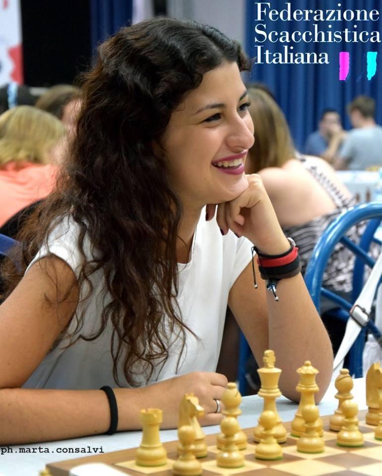 La campionessa di scacchi