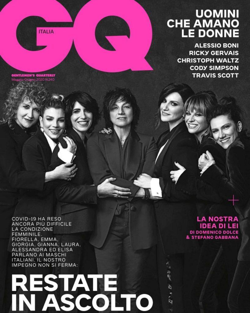 """""""Una. Nessuna. Centomila"""" - Le 7 artiste posano per la copertina di GQ (Ph. Instagram @amorosoof)"""
