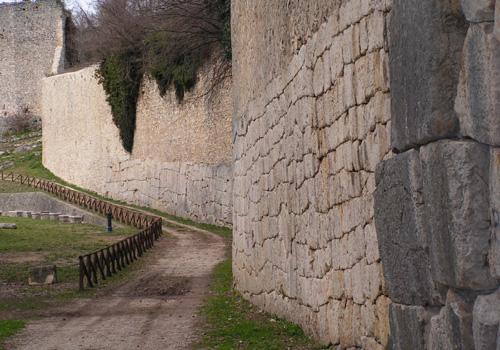 Amelia, Umbria - Mura