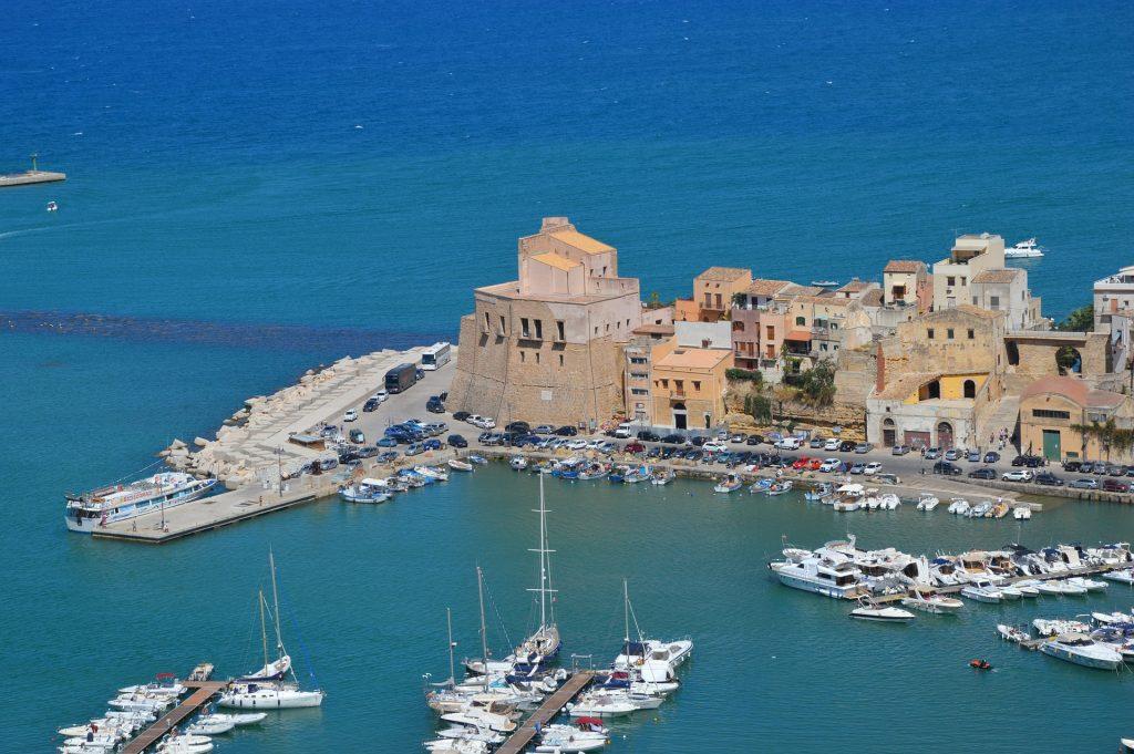 rotta di Enea - Trapani, Sicilia