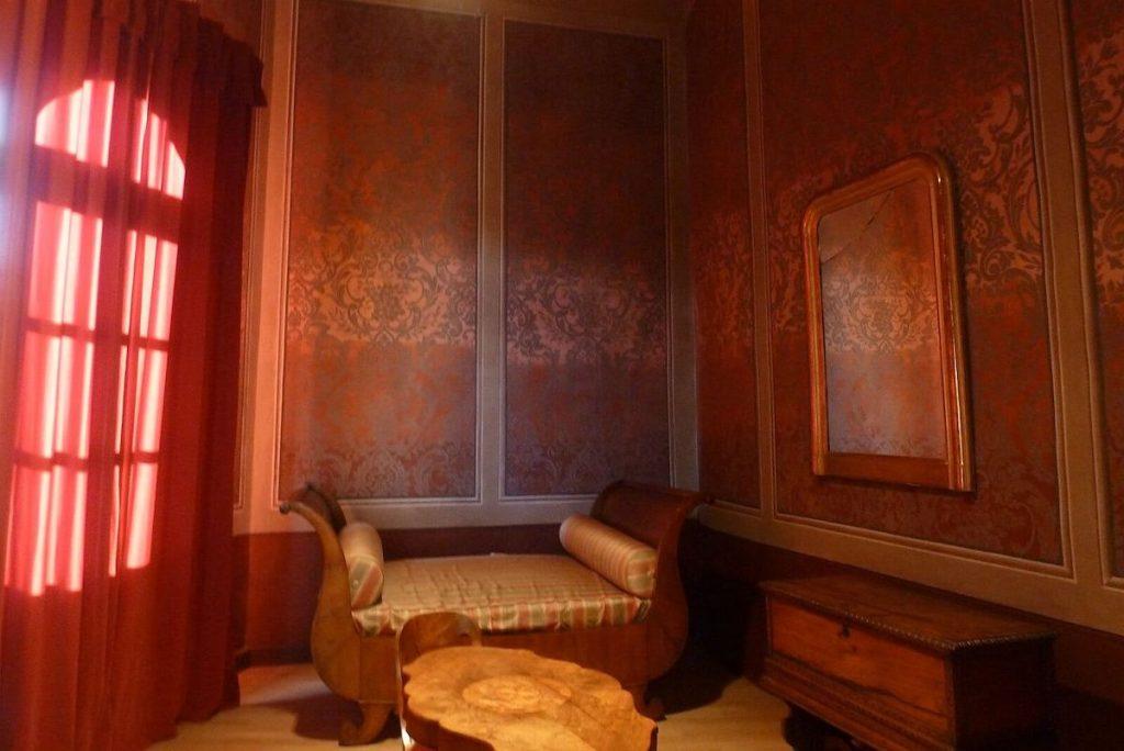 Castello di Barolo - camera di Silvio Pellico