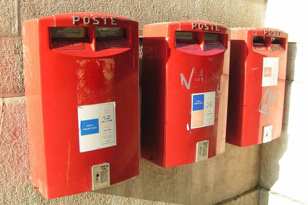 Cassetta della posta smart - Poste centrali Cremona