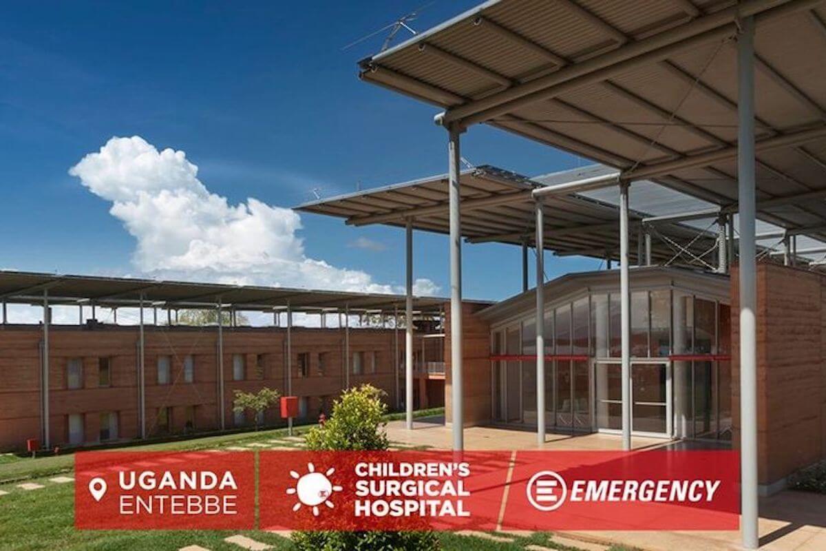 Emergency Ospedale pediatrico progettato da Renzo Piano in Uganda