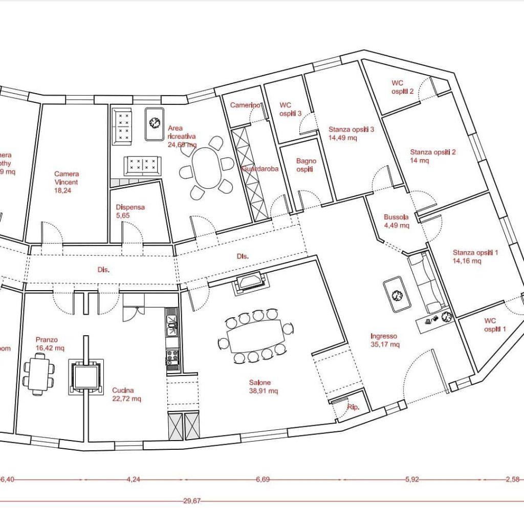 Contea Gentile - Progetto Casa madre