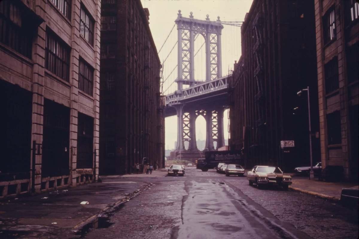 C'era una volta in America - Manhattan Bridge a New York